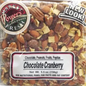 Chocolate Cranberry Trail Mix