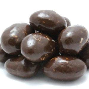 Dark Chocolate Macaroon Almonds