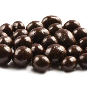 Dark Chocolate Peanuts with Sea Salt