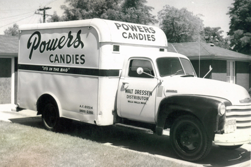 Powers Candies Truck