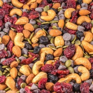 Antioxidant Trail Mix with Chocolate Chips