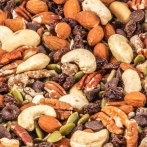 Raw Nut Carob Blend Trail Mix